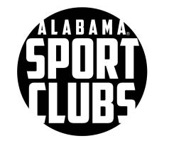University of Alabama Sport Club Patch (Black).