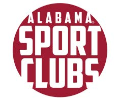 University of Alabama Sport Club Patch (Crimson).
