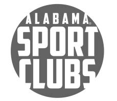 University of Alabama Sport Club Patch (Silver).
