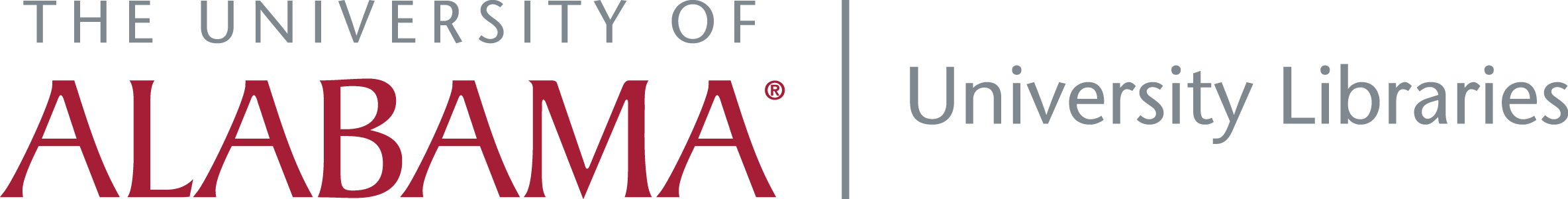 Alabama University Libraries Identifier.