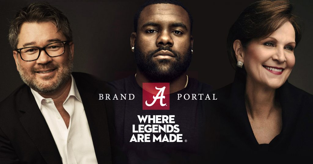 University of Alabama Brand Portal image.